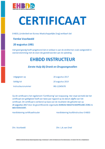 Nabestellen certificaten papier