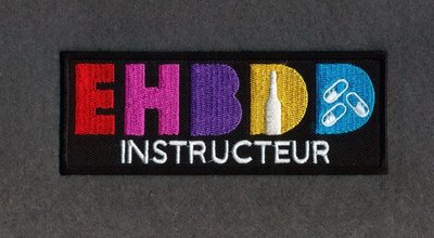 Embleem 'EHBDD Instructeur'